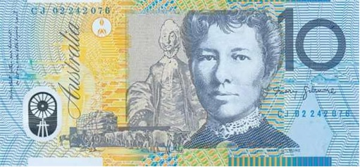 Woman-on-Currency-Note-Australia-10-Dollar-Dame-Mary-Gilmore