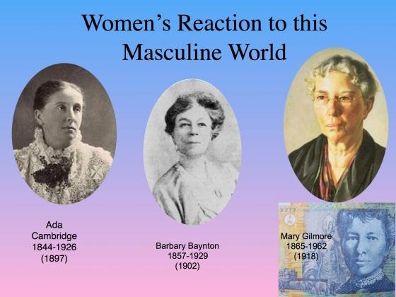 Women1890s